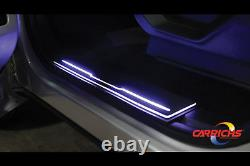 2015-2017 Ford F-150 (crew Cab) Stainless Steel Led Aniglo Sill Plate