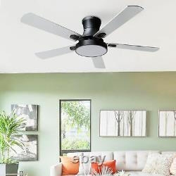 42 Ceiling Fan with LED Light 3 Color /Speed Change Chandelier withRemote Control