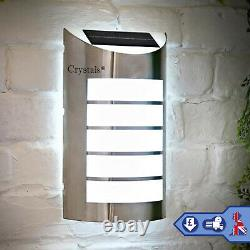 5 LED Solar Powered Wireless Wall Security Light Garden Outdoor Path Lamp Patio