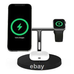 Belkin 15W Wireless Fast Charger/Stand MagSafe for iPhone 12/Air Pod/Apple Watch