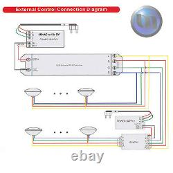 Extremely Bright Swimming Pool RGB LED Light NEW- 7 Colours + RGB + Power Kit