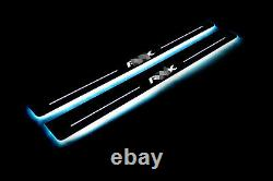 Led Illuminated Stainless Steel Door Sill Guards 2pc For Acura RSX 2002-2006