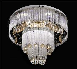 New design modern crystal ceiling lamp with MP3 Bluetooth and Remote 8213