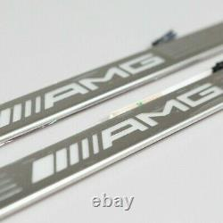 New genuine Mercedes A class W177 AMG LED illuminated door sill panels set of 2