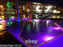 REFINED 150mm Led SPA Light RGB 316L Stainless 12V Resin Filled 6.56ft cable 6W