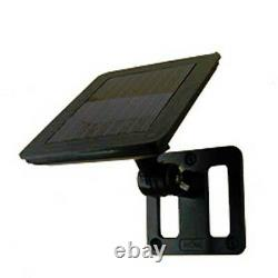 Solar Powered Shed Eaves 8 LEDs Path Garage Barn Patio Porch Wall Light Lamp