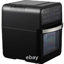 VEVOR 13QT Air Fryer 12-in-1 Convection Toaster Pizza Oven LED 1700W Dehydrator