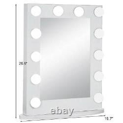 VEVOR Hollywood Makeup Vanity Mirror with Light Dimmer Stage Beauty Mirror