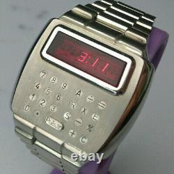 Vintage Pulsar Watch Calculator Time Computer Led 1975