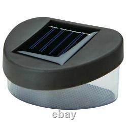 12 X Solar Power Powered Door Fence Wall Lights Led Outdoor Garden Shed Éclairage