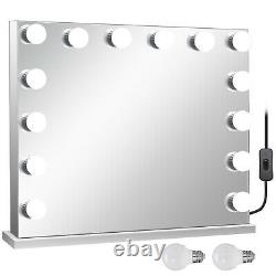 33l Hollywood Makeup Mirror Lighted Vanity Mirror Avec Bulb Beauty Mirror Large