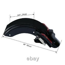 Fender Arrière Led Pour Harley Touring Road Electra Glide 2014-2020 18 Cvo Style