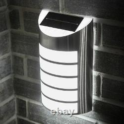 Wireless 5 Led Solar Powered Wall Security Light Garden Lamp Patio Outdoor Path